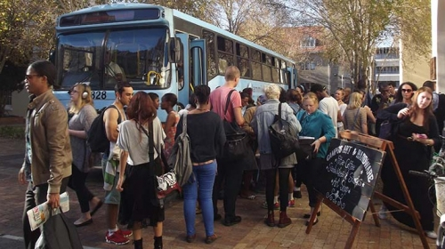 Bus Strikes cause Chaos on Campus